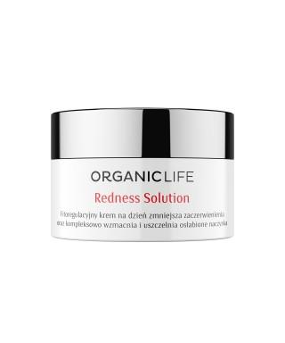 Krem na dzień cera naczynkowa Redness Solution Organic life 50g