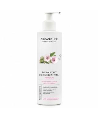 Balsam myjący do higieny intymnej z wyciągiem z prawoślazu lekarskiego Organic Life 250g