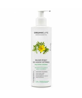 Balsam myjący do higieny intymnej z wyciągiem z pięciornika srebrnego Organic Life 250g
