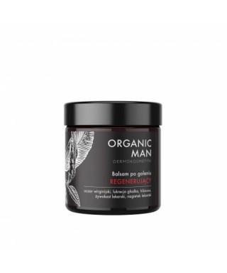 Balsam po goleniu regenerujący Organic Man Organic Life 50g