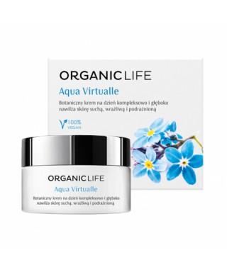 Botaniczny krem na dzień nawilżający Aqua Virtualle Organic life 50g