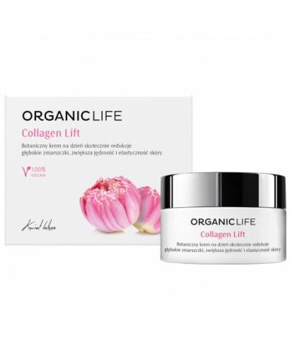 Botaniczny krem na dzień Collagen Lift Organic life 50g